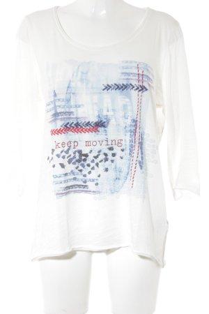 Marc Aurel Print-Shirt Motivdruck Casual-Look