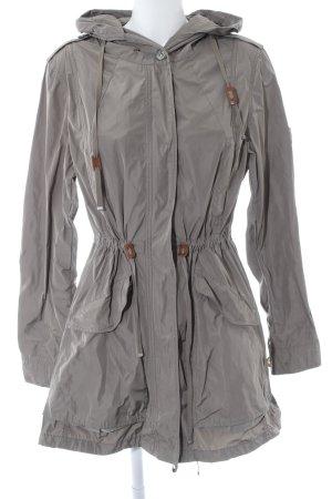 Marc Aurel Manteau de pluie gris brun style décontracté