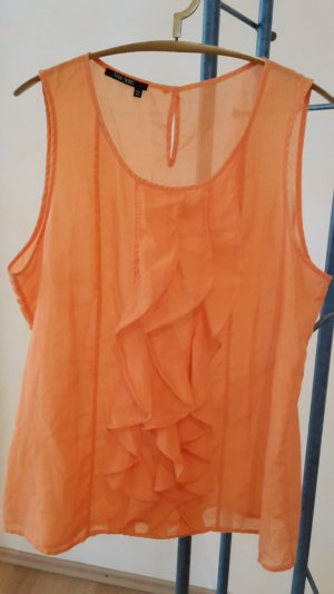 Marc Aurel Frill Top light orange-orange mixture fibre
