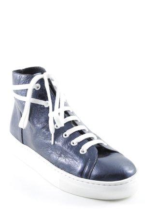 Marc Aurel Sneaker stringata blu stile atletico