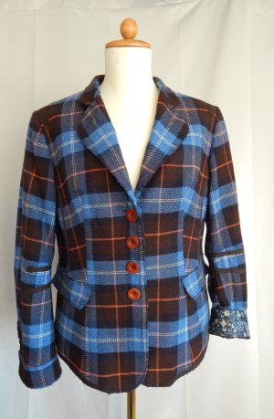 Marc Aurel Wool Blazer multicolored
