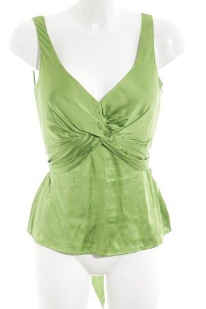 Marc Aurel Seidentop grün Casual-Look