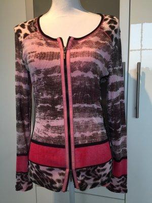 Marc Aurel V-Neck Shirt multicolored mixture fibre