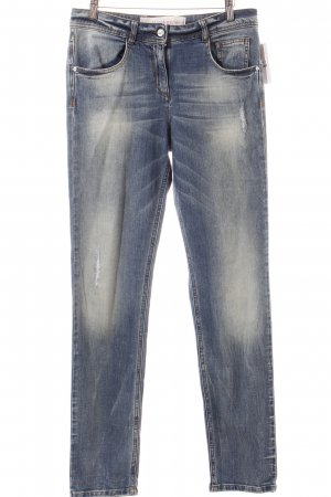 Marc Aurel Skinny Jeans hellblau Street-Fashion-Look