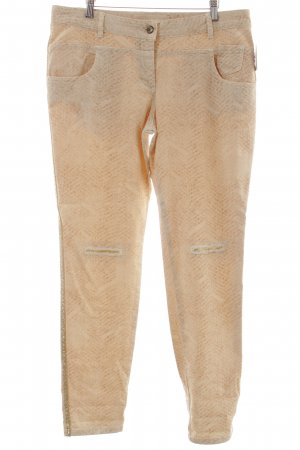 Marc Aurel Slim Jeans abstraktes Muster Street-Fashion-Look