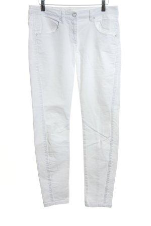 Marc Aurel Jeans slim blanc style décontracté