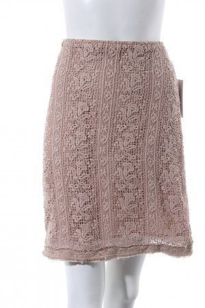 Marc Aurel Lace Skirt beige romantic style