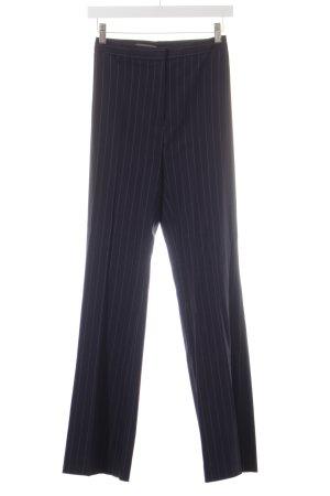 Marc Aurel Stoffhose dunkelblau-weiß Nadelstreifen klassischer Stil