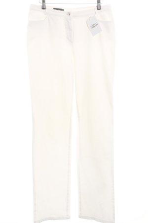 Marc Aurel Straight-Leg Jeans weiß klassischer Stil