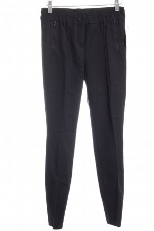 Marc Aurel Stretchhose schwarz Business-Look