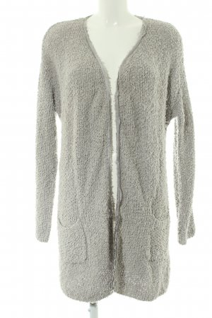Marc Aurel Strick Cardigan hellgrau Casual-Look