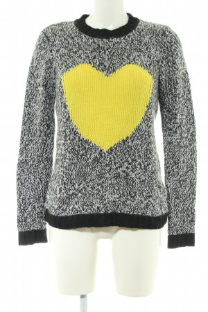 Marc Aurel Strickpullover meliert Casual-Look