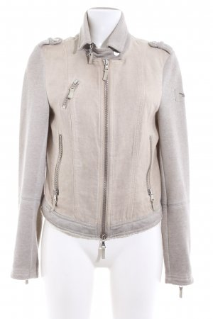Marc Aurel Sweatjacke wollweiß Casual-Look