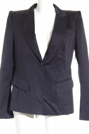Marc Aurel Tweedblazer dunkelblau Business-Look