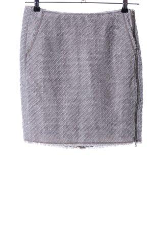 Marc Aurel Tweed rok lichtgrijs volledige print casual uitstraling