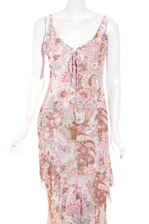 Marc Aurel Volante jurk paisley patroon Beach-look