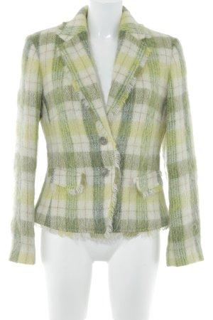 Marc Aurel Wool Blazer check pattern business style
