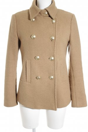 Marc Aurel Wolljacke beige Webmuster Brit-Look