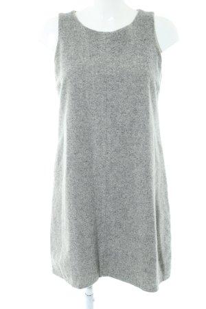 Marc Aurel Vestido de lana gris claro moteado look casual