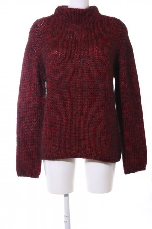 Marc Aurel Wollpullover rot Casual-Look