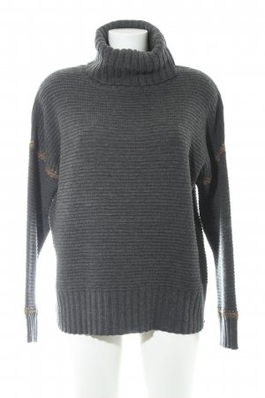 Marc Aurel Wollpullover graubraun-anthrazit Casual-Look