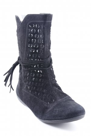 MARC Booties schwarz Casual-Look