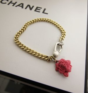 MARC BY MARC JACOBS ARMBAND MIT BLUME / ROSE