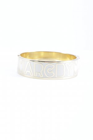 Marc by Marc Jacobs Bangle gold-colored printed lettering elegant