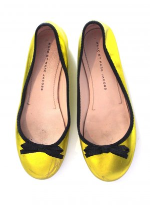 MARC BY MARC JACOBS Ballerina Limette Metallic Gr. 36