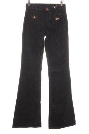 Marc by Marc Jacobs Boot Cut spijkerbroek donkerblauw retro uitstraling