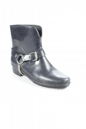 Marc by Marc Jacobs Booties schwarz Biker-Look