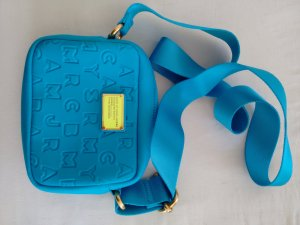 Marc Jacobs Handbag turquoise-light blue polyester
