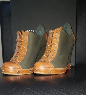 MARC by MARC JACOBS Canvas Military Wedge Schnürer Gr. 36,5