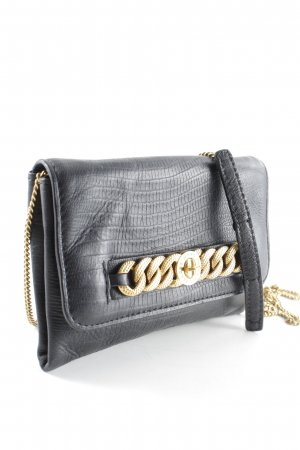 Marc by Marc Jacobs Clutch schwarz-goldfarben Elegant