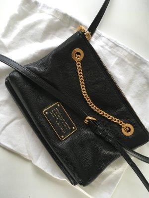 Marc by Marc Jacobs Crossbody Bag schwarz gold Umhängetasche Tasche Blogger Style Leder