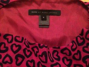 Marc by Marc Jacobs Designer Kleid Herzen Graphik Selten!