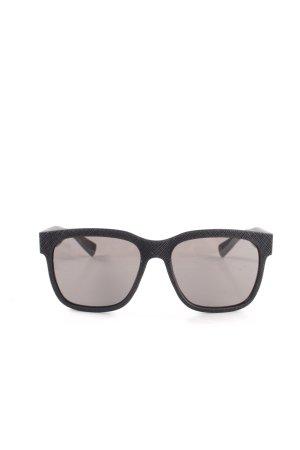Marc by Marc Jacobs eckige Sonnenbrille schwarz Streifenmuster Casual-Look