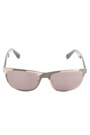 Marc by Marc Jacobs eckige Sonnenbrille goldfarben-pink Casual-Look
