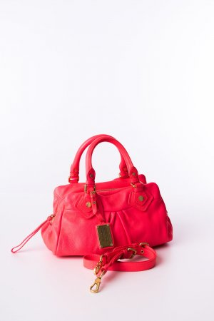 Marc by Marc Jacobs Sac à main rose fluo cuir
