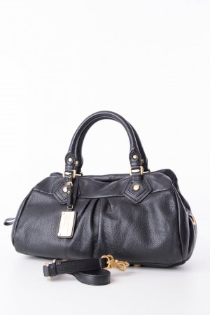 Marc by Marc Jacobs Carry Bag black-gold-colored leather