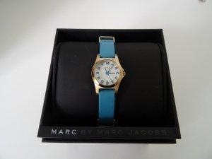 Marc by Marc Jacobs hellblaue Armbanduhr