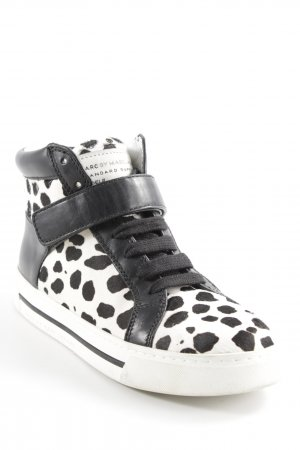 "Marc by Marc Jacobs High Top Sneaker ""Women's Cute Kicks 10Mm Lace Up Sneakers With Calf Fur"""