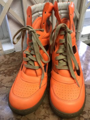 Marc by Marc Jacobs High Top Sneakers Neon Orange 38