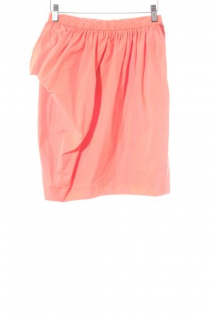 Marc by Marc Jacobs High Waist Rock neonorange extravaganter Stil