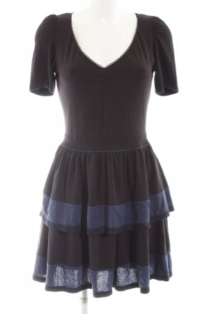 Marc by Marc Jacobs Jersey Dress black-dark blue striped pattern casual look