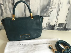 Marc by Marc Jacobs Lederhandtasche petrol, Too Hot to Handle Small Handle Bag