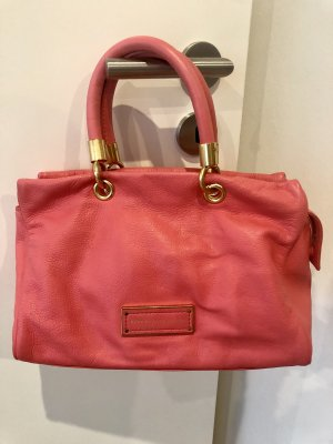 Marc by Marc Jacobs Ledertasche in flamingo pink
