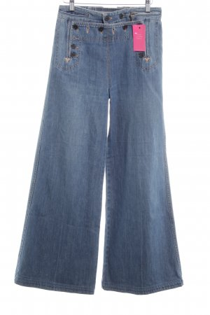 Marc by Marc Jacobs Marlenejeans stahlblau Country-Look