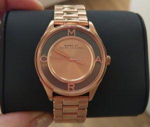 Marc Jacobs Horloge met metalen riempje roségoud