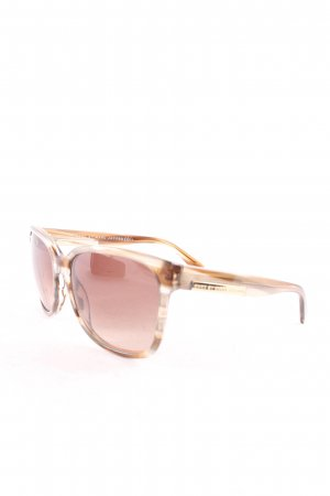 Marc by Marc Jacobs ovale Sonnenbrille graubraun Casual-Look